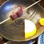 鳥々屋 - 料理写真:食べかけ(^_^;)