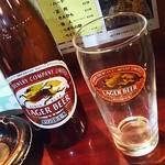 狸の焼鳥 - ドリンク写真:瓶ビール
