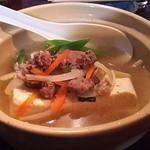 狸の焼鳥 - 料理写真:煮込み豆腐