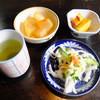 車澤うどん - 料理写真:サービスの小皿