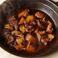 红焖羊肉(ホンムンヤンロウ)/ラム肉と大根の醤油炒め煮