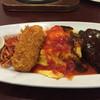 丸の内ディンドン - 料理写真:私が食べた「大人のお子様ランチ」サラダとプリンもついてたよ!