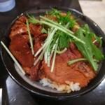 G麺屋 - チャーシュー丼
