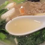 胡椒饅頭PAOPAO - スープは、塩系