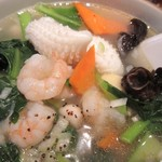 胡椒饅頭PAOPAO - 海鮮の具