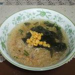 函館麺や 一文字 - 函館麺や一文字塩ラーメン(トッピングはついていません)