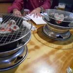 李朝園 - 炭火焼き器&炭火焼き器