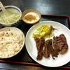 譲 - 料理写真:牛タン定食 とろろ追加