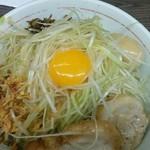 50359821 - 小汁なし ネギ 味玉 アレ(高菜)