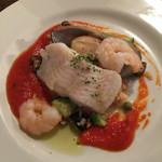 トーク バック - メインの魚料理