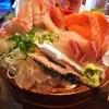 魚豊 - 料理写真:(2016/4  訪問)これでもかの刺身をアップ撮影。