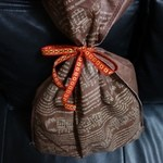 ビアカフェあくら - 何と、こんな可愛い包で頂きました