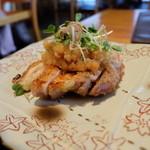 和食賛美 あやの - 鶏の岩塩焼き