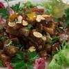 トラットリア シチリアーナ・ドンチッチョ - 料理写真:穴子とインゲン、パプリカ、ニンジン、シチリア産エスプレッソのサラダ(2,400円)