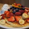 Cafe Kaila  - 料理写真:カフェカイラオリジナルパンケーキ全部のせ(ハワイアンサイズ)