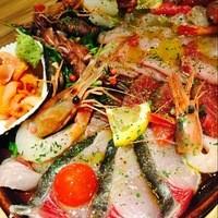 ■本日の鮮魚カルパッチョ盛合せ■