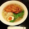 かりんの湯 - 料理写真:炙り鶏の中華そば ¥900 2016年4月訪問★彡