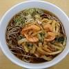 名鉄レストラン  - 料理写真:甘海老かき揚げそば630円