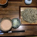 銀蕎麦國定 - くるみだれ1000円+大盛り100円
