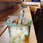 フジヤマプリン - 料理写真:自家製ピクルス