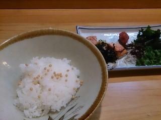 志な野 - 志な乃茶漬け¥760