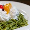 マウンテン - 料理写真:甘口抹茶小倉スパゲティ 900円