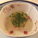 50412531 - 石鯛のタルタル  茄子のブラマンジェ&和出汁エッセンス