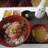 不二家レストラン - 料理写真:まぐろのたたき丼(味噌汁・香物付):1,026円