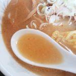 ラーメン ちゃー亭 - スープ 2016/04