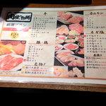 肉屋の台所 - 食べ放題メニュー