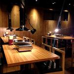 肉屋の台所 - 店内の雰囲気