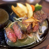 あさくまキッチン - 料理写真:ガーリックカットステーキ150g