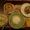 ドゥワン ディー - 料理写真:ランチセット(グリーンカレー)