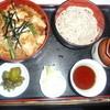 朝日屋 - 料理写真:親子丼とそばのセット