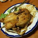 チャ~ボン 多福楼 - 親鶏の丸揚げ(甘酢醤油風味)1羽(990円+税)2016年4月