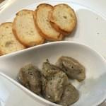 すみたのだいどころ kerasse - 清流鶏砂肝の低温バター煮