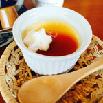 cafe Mizukinosho - みそプリン
