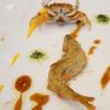 メゾン エメ・ヴィベール - 料理写真:一口のお愉しみ:鮎と沢蟹のベニエ