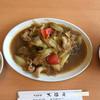 大福元 - 料理写真:豚肉とセロリと春雨の醤油炒め