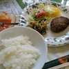 ル・カフェ - 料理写真:ハンバーグ(¥600)