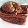 ボンデリスベーカリー - 料理写真:リッチショコラ360円     食べかけ。笑