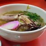 上海軒 - 料理写真:醤油ラーメン(小)