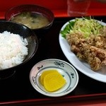 上海軒 - 料理写真:から揚げ定食