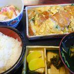 辰よし - 料理写真:かつ煮定食