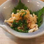 泰然 - 比内地鶏とり皮ポン酢