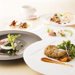 レストラン アンソレイユ - 月替わりランチコース「レガール」