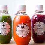 リネーチャー - オーガニックの野菜と果物だけで作ったコールドプレスジュース