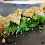 ゆがわら 一二一 - 豆腐サラダ 850円