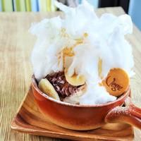ふわっと綿菓子の名古屋パンケーキ