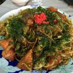 マルオカ食堂 - 料理写真:インディアントマト焼そば